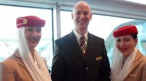 Emirates Dublin staff