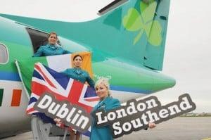 Aer Lingus Regional Dublin to London Southend