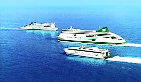 Irish Ferries Ships