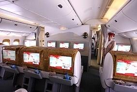 Emirates B777 ice