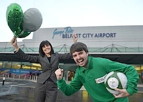 Aer Lingus Belfast City Airport Launch