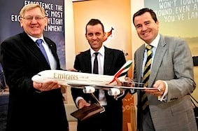 Tourism Australia and Emirates