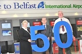 Belfast International Airport Golden Anniversary