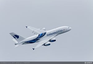 Malaysia Airlines third Airbus A380