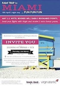 BookaBed Miami Invite
