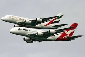 Emirates - Qantas Partnership 1