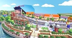 Universal Springfield Comes to Universal Orlando