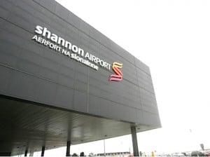 Shannon Airport Sign