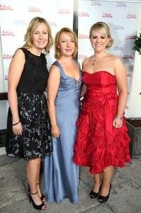 Claire Murphy, Irene Smith, and Paula Smith