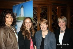 Joanna Gomez,Travel Focus,Fiona Ellis,South Carolina,Nora Desmond, Premier Travel and Rosemary O,Connell , Lee Travel wre at Hayfield Manor Hotel.