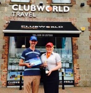 Stephen Davitt Emirates and Karen Lavery Clubworld.