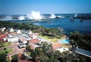 Royal Livingstone Hotel and Victoria Falls, Zambia