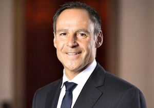 Rupert Simoner, Chief Executive, Vienna International Hotels & Resorts