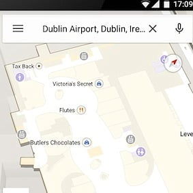 Dublin Airport Google Indoor Maps