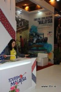 Tourism Malaysia stand at ATF.