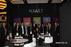 The Hyatt team at ATF.