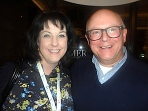 Brenda Morgan, British Airways, meets Bruce Cairns, Travel Counsellors