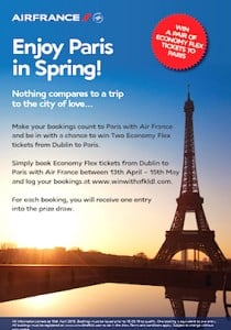 Air France Promotion