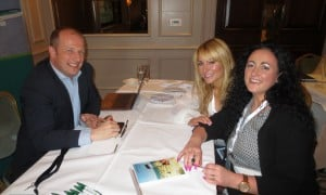 Ivan Beacom,Aer Lingus updates Colleen Butler and Bev Fly from Bookabed.