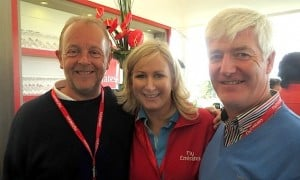 Martin Penrose, If Only; Anita Thomas, Emirates; and Martin Skelly, Navan Travel