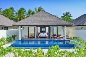 The Sunset pool Villa.