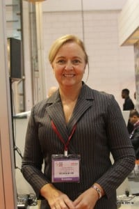 Mary McKeon was busy on the Vietnam stand at WTM-2015