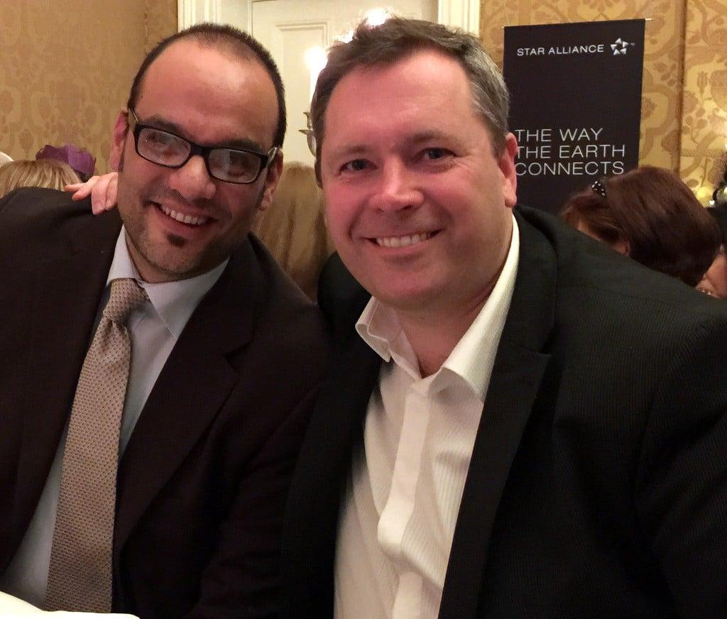 Peter Friedrich, TravelCube, meets Geoff Collins, Best4Travel