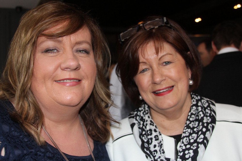 Karen Smyth, Carlson Wagonlit Travel and Noeleen Lynch, Atlas Travel Services were at the lunch.