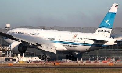 Kuwait Airways B777-200