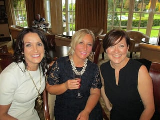 Edel Doherty,QA travel;Lisa Hammond and Beatrice Cosgrove,Etihad Airways.