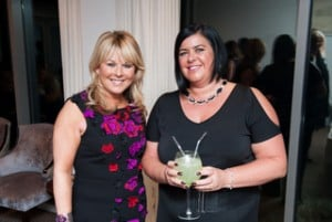 Sandra Corkin, Oasis Travel, and Claire Mulligan, Clubworld Travel