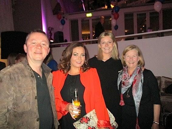 Frank McCaffrey, Delta Air Lines; Erica Ogcesby, MSC Cruises; Yvonne Muldoon, Aer Lingus; and Patricia Purdue, Massachusetts OTT