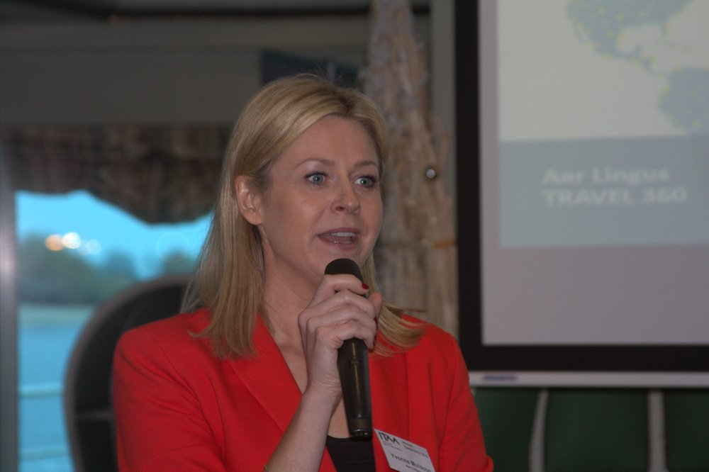 Yvonne Muldoon,Sales Director-Aer Lingus.