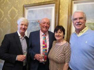 Martin Skelly,Navan Travel;Cormac Meehan,President of the ITAA;Clare Dunne,The Travel Broker and John Galligan,John Galligan Travel.