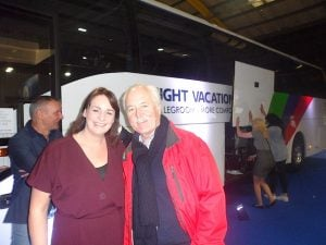 Sharon Jordan, Insight Vacations, with John Spollen, Cassidy Travel