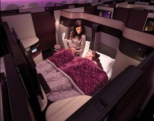 Qatar Airways QSuite 3