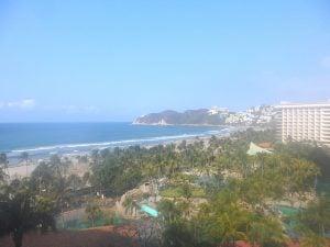 Revolcadero Beach, Acapulco, from Princess Mundo Imperial Resort