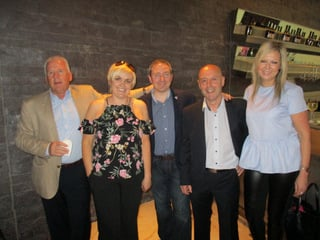 : Des Abbott, Des Abbott Travel; Louise Monaghan, Skytours; Barry Hammond, Sunway; Brian McCarthy, Island Marketing; Tatanina Sukhamova, Skytours