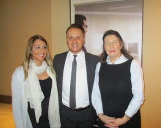 Aide Icardi, Map Travel; Onur Gul, Turkish Airlines; Patrica Kenny, Map Travel