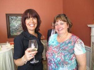 Joanne Harvey, Group Marketing Manager, and Professor Julie Hastings, Marketing Director, Hastings Hotels