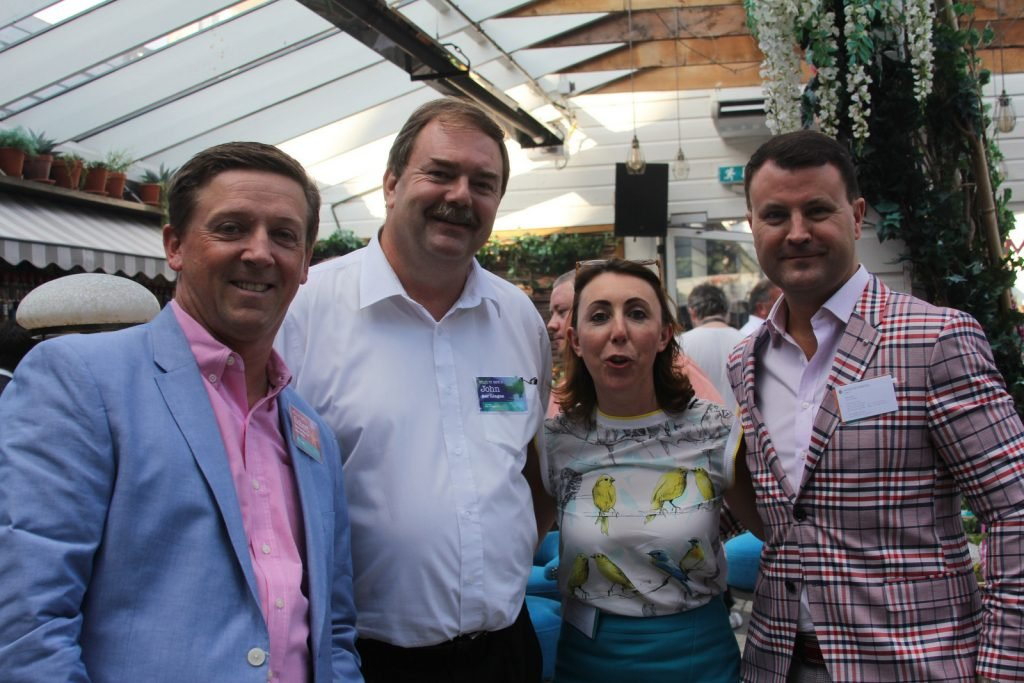 Robert Hill,Intercontinental Hotels,John Keogh,Aer Lingus, with Ciara Hanley and Nicky Logue,Intercontential Hotels.