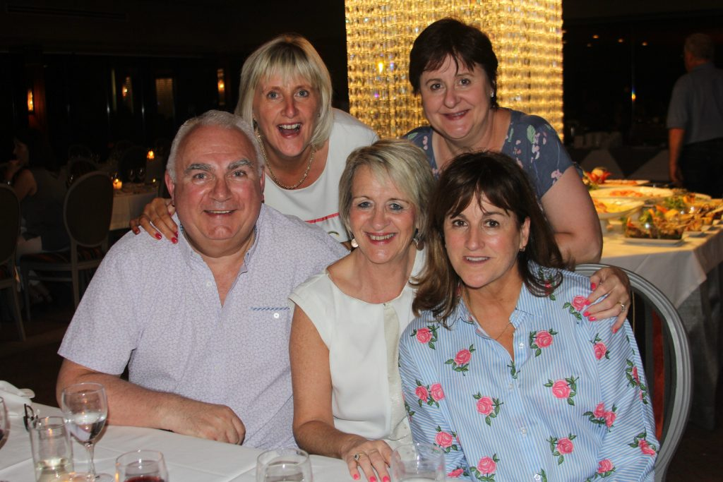 All the way to Porto were Sean Healy,Rosemary O'Connell,Mary Jones,Mary Lee Johnson and Clare Dunne.