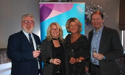 Stephen Brennan, Trish O'Leary, Olwen McKinney, Amadeus Ireland, with Rob Golledge, Amadeus UK