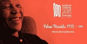 Mandela 100 celebrations mark the centenary of the birth of Nelson Mandela on 18th July 1918, Mandela Day