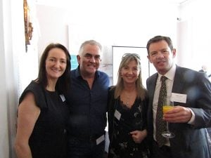 Jenny Rafter, Aer Lingus; Paul Hackett, Click&Go; Angela Walsh, CTM; and Philip Airey, Sunway